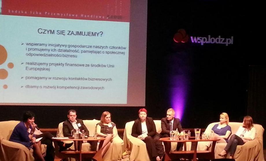 Czerwiec 2014: panel na II Łódzkim Kongresie Kobiet