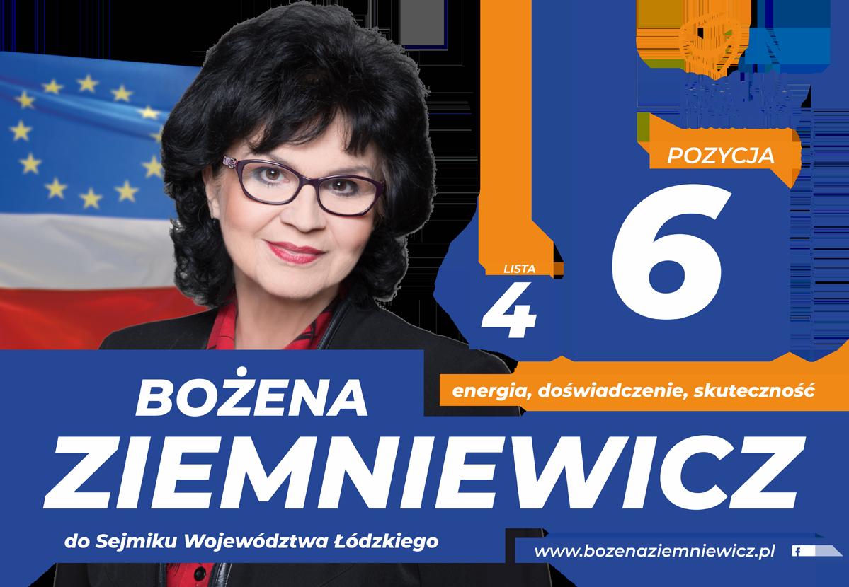 Materiały Wyborcze Bożena Ziemniewicz