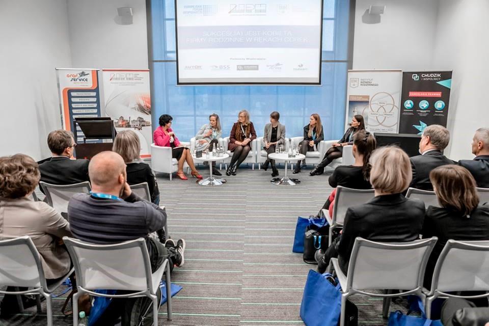 """Październik 2016: panel """"Sukcesja jest kobietą"""" na IX Europejskim Forum Gospodarczym"""