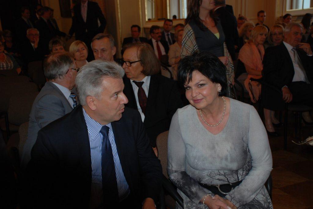 Czerwiec 2014: przed rozpoczęciem uroczystości jubileuszowych